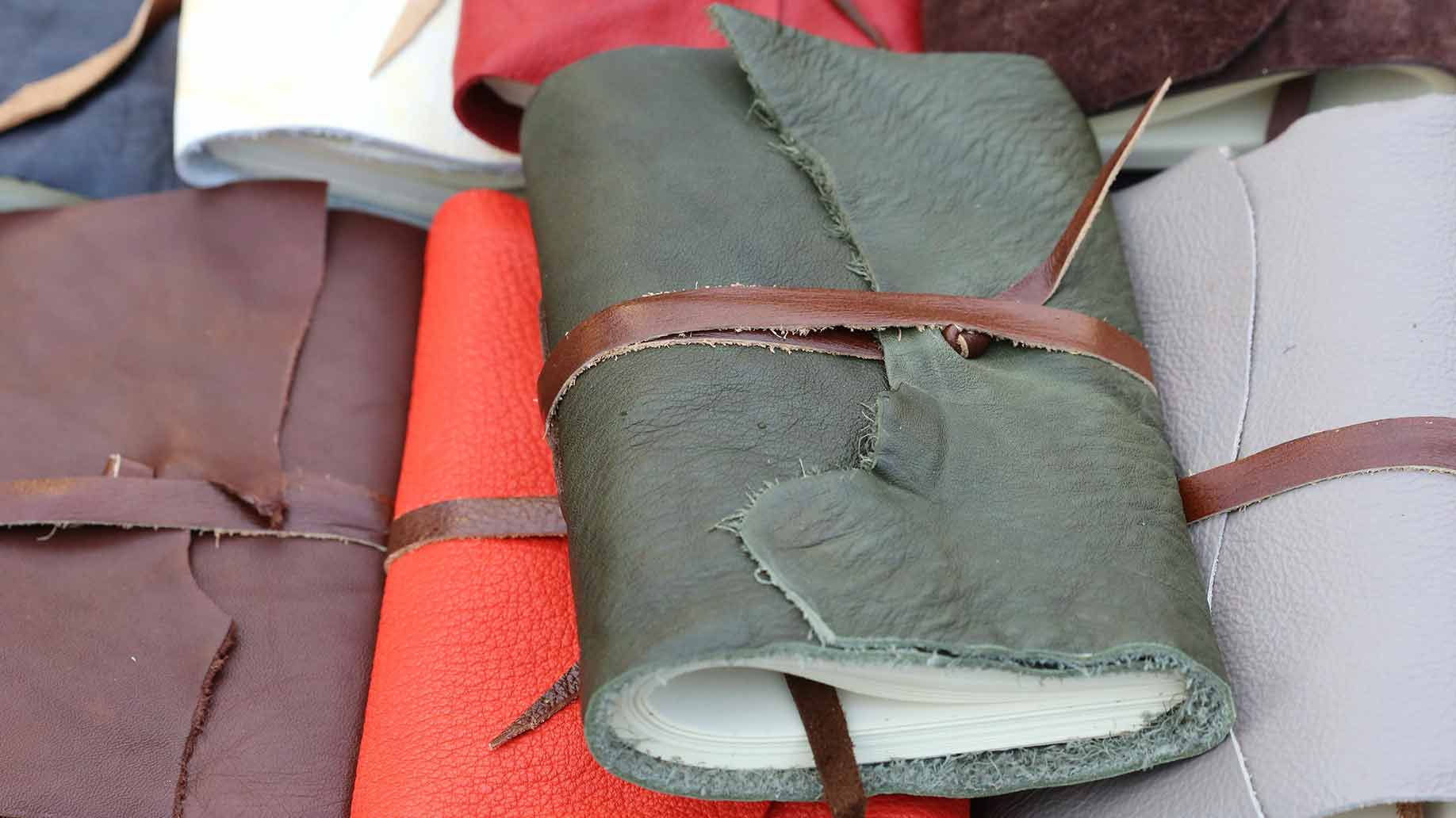 journaling with leather journals