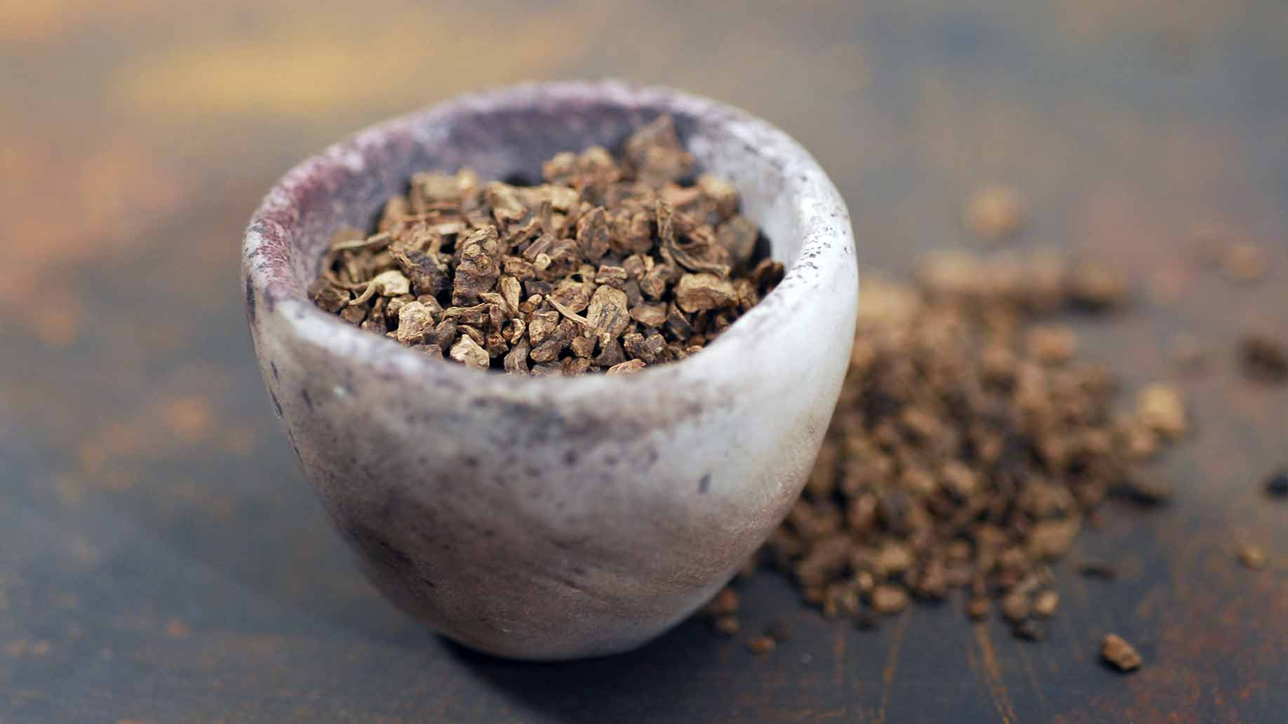 kava root dried herb supplement