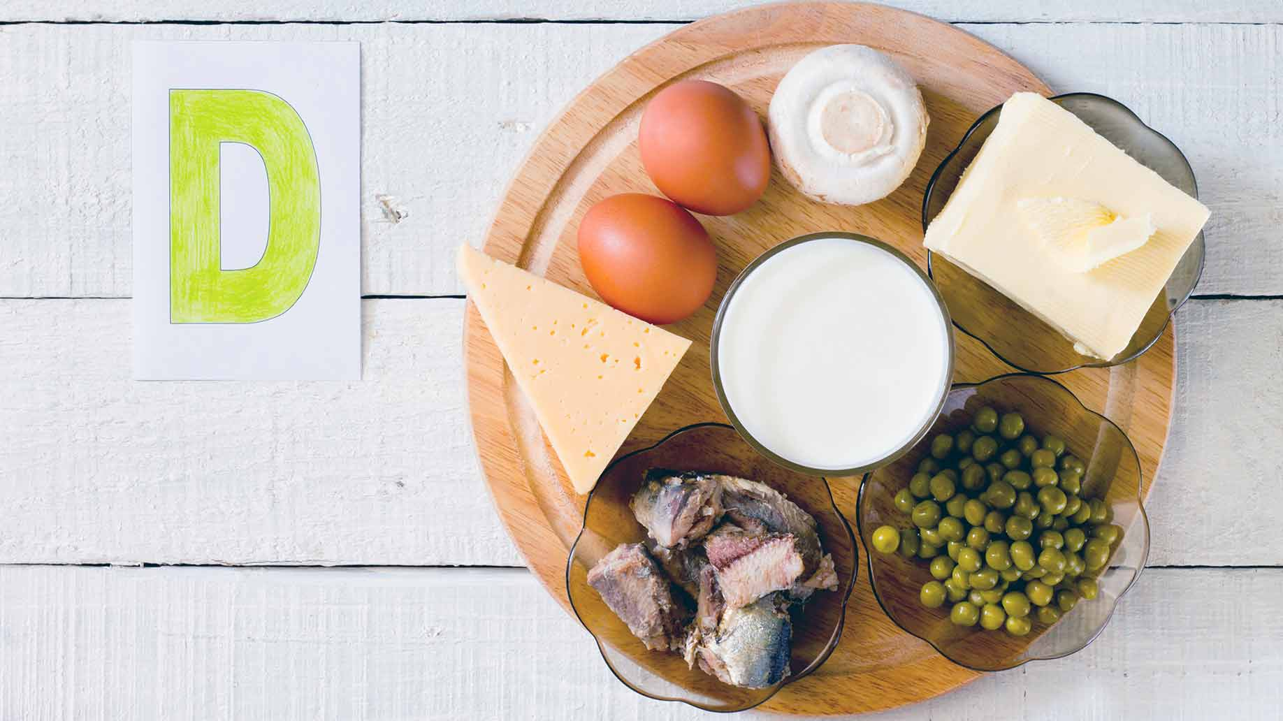 vitamin d3 foods plate examples