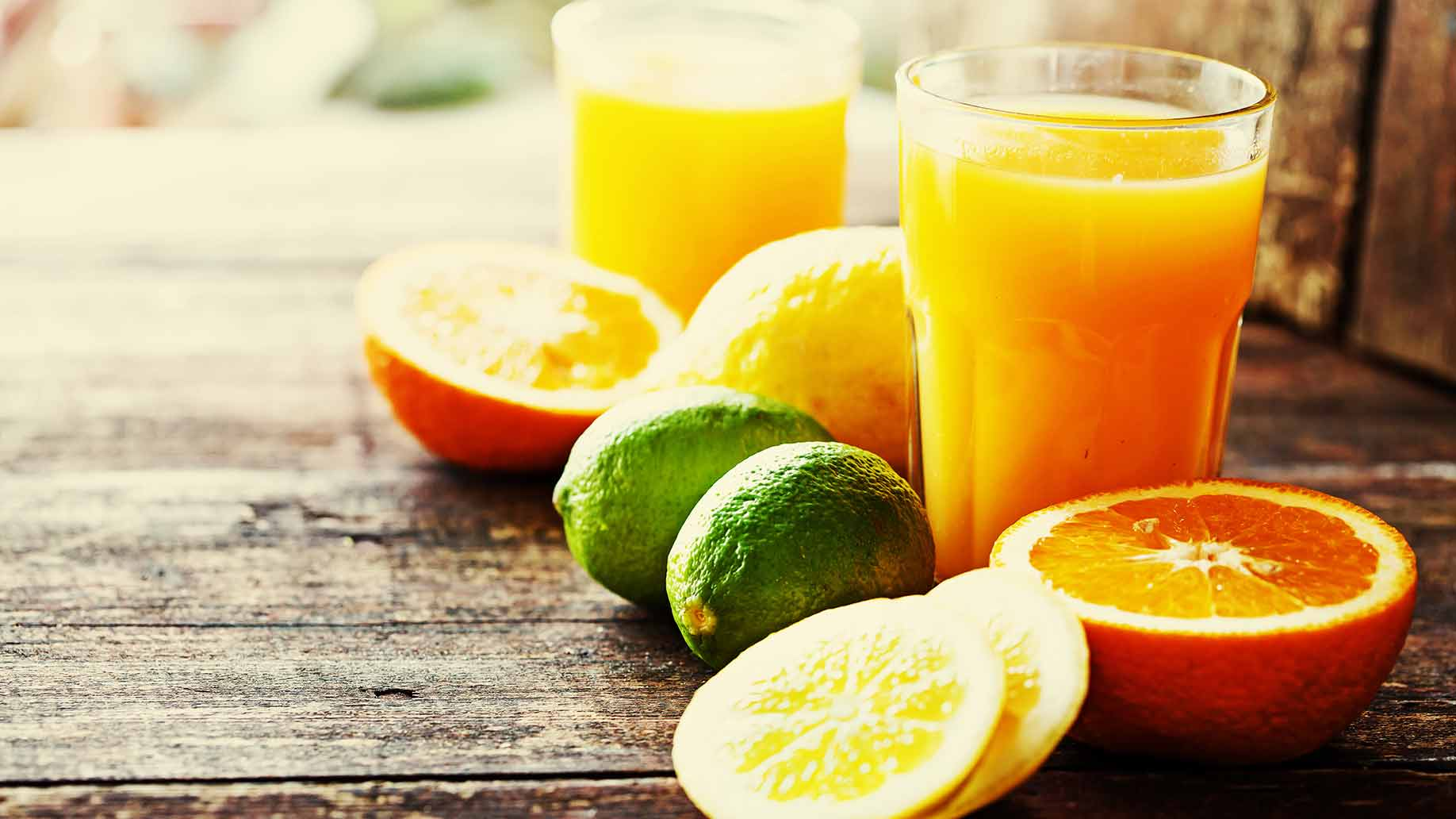 colon cleanse citrus juices and smoothies orange lime vitamin c drinks