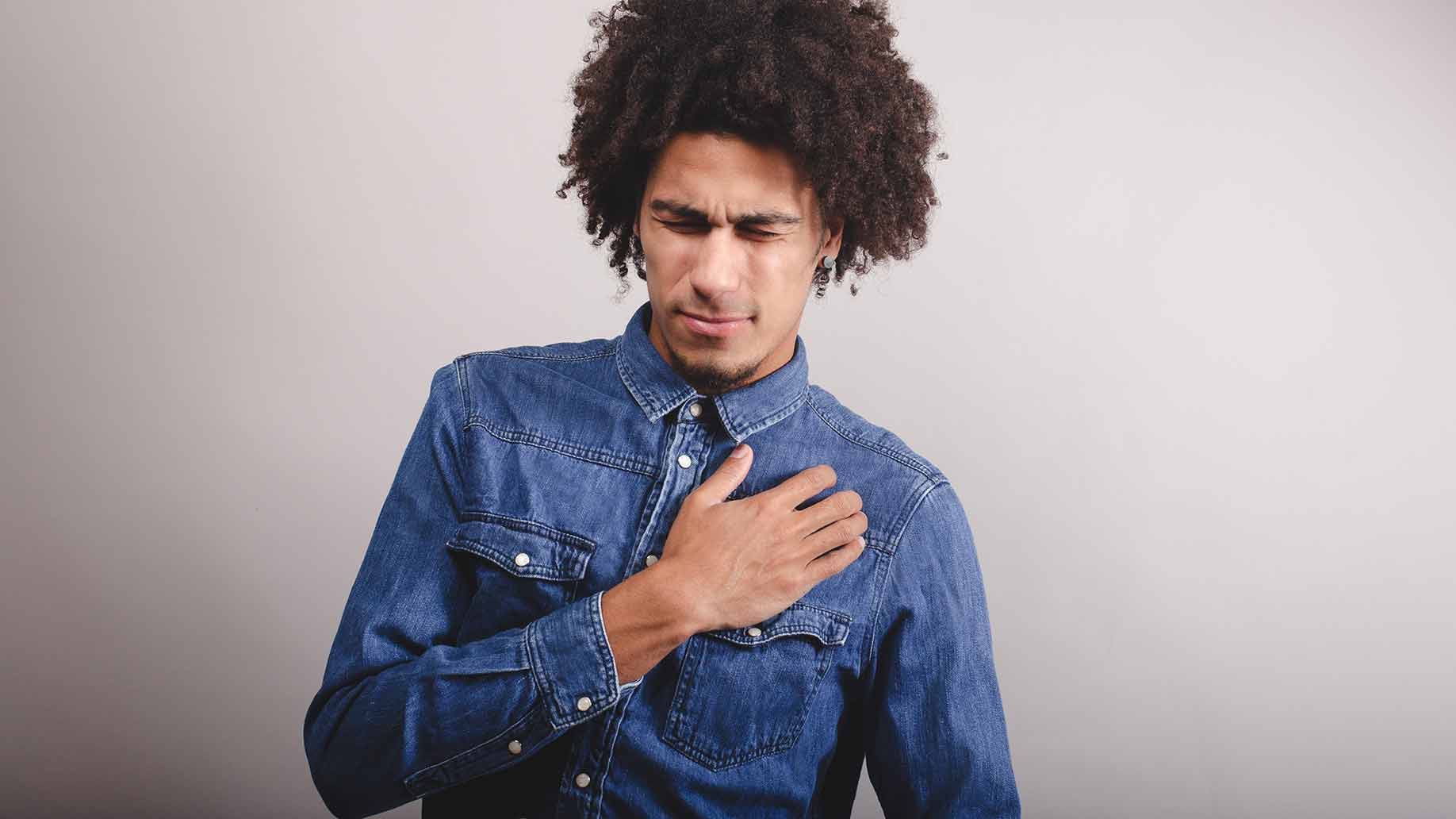 heartburn acid reflux gerd burning chest pain nausea