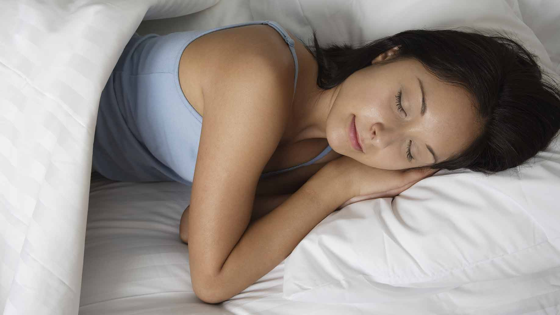 sleep upright and on your left side for better digestion and less heartburn