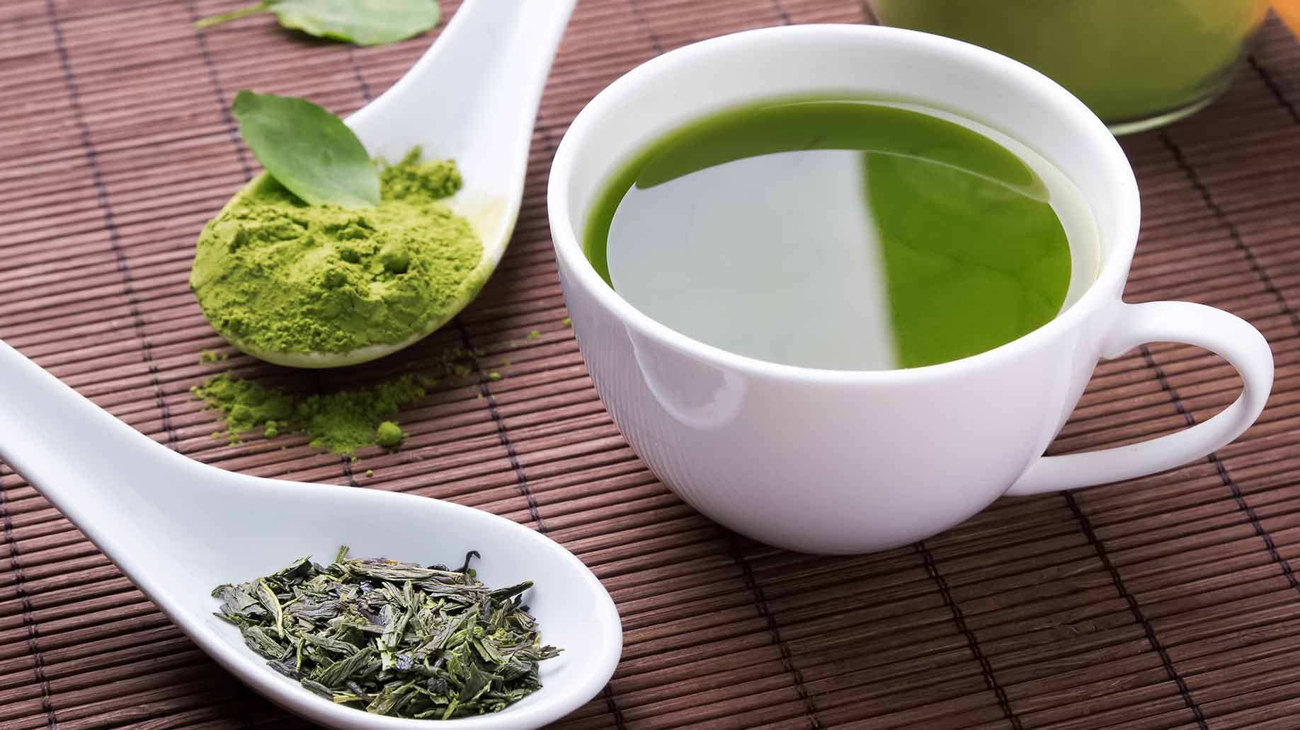 drink green tea matcha powder weight loss natural remedies