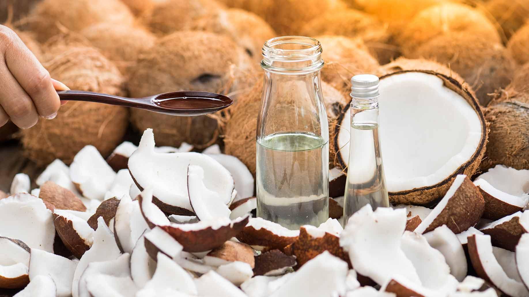 natural health benefits coconut oil raw organic pure virgin
