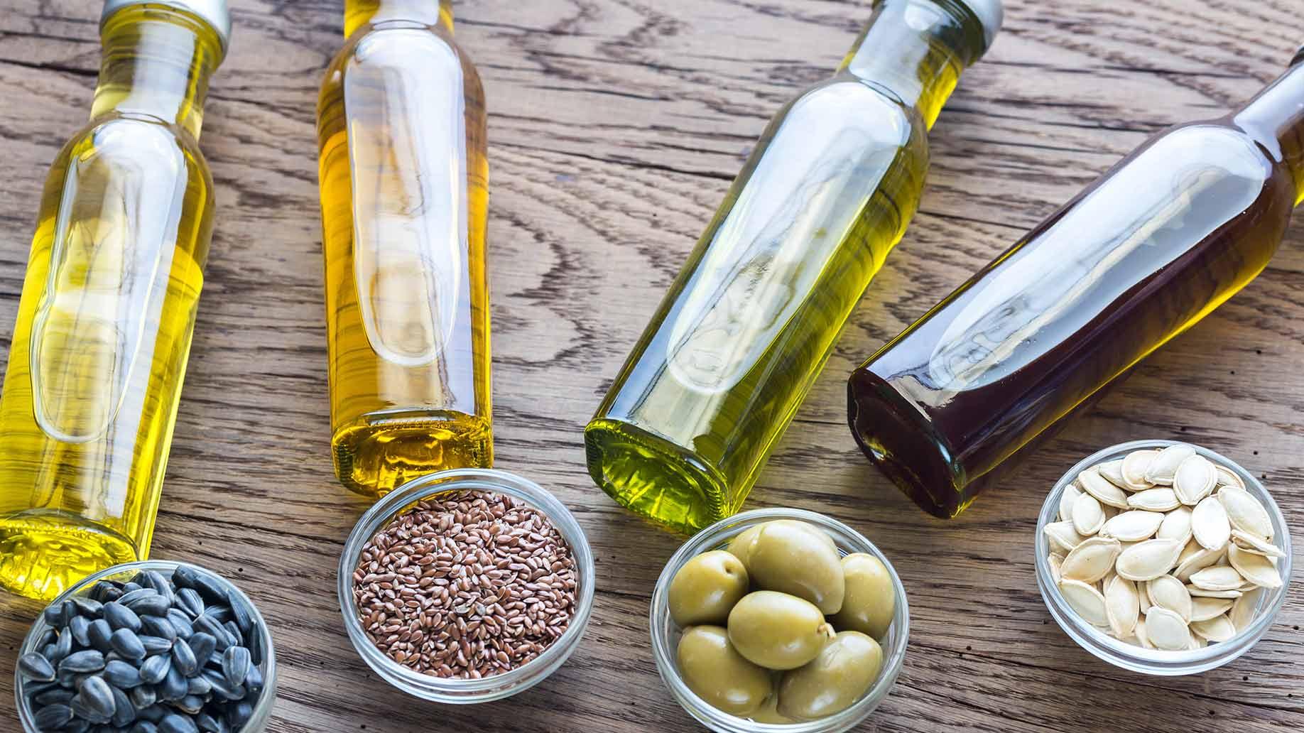 vegetable oils glossy shiny hair olive sunflower almond sesame natural diy homemade shampoo ingredients