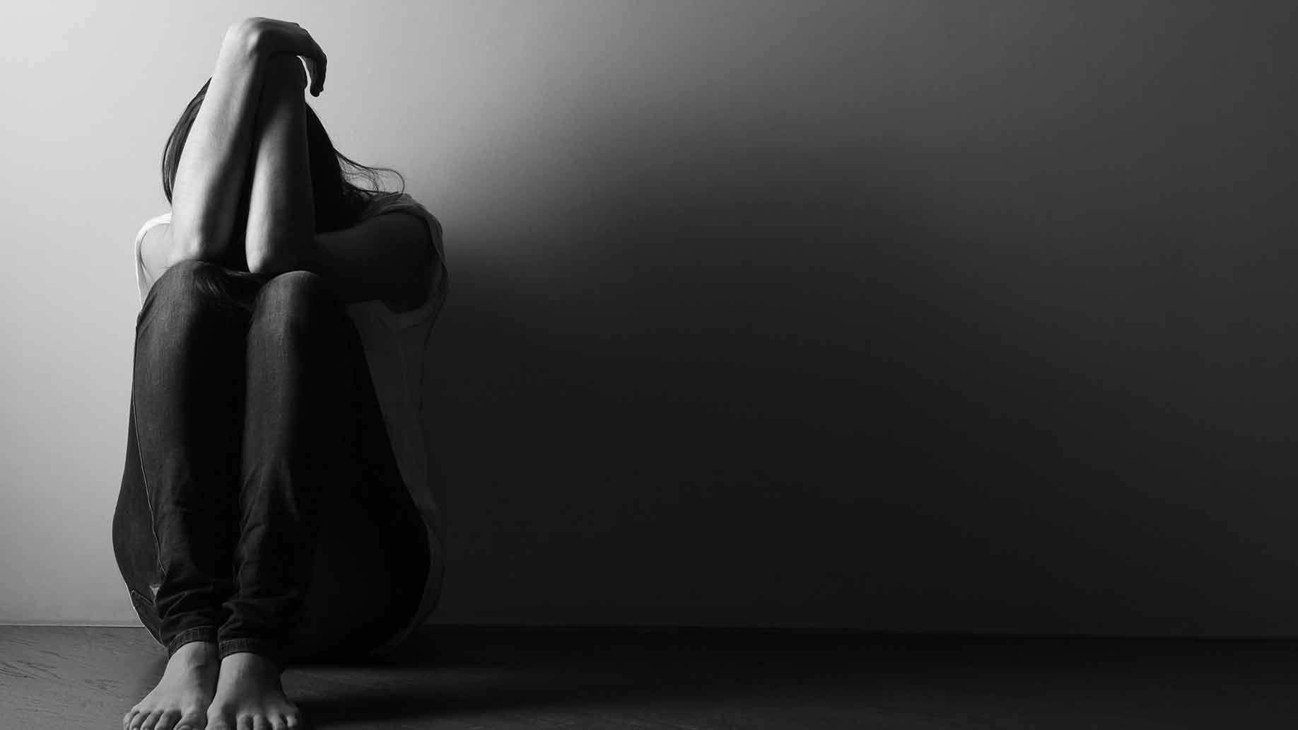 Depression Anxiety Alone Sad Depressed Dark Turmeric