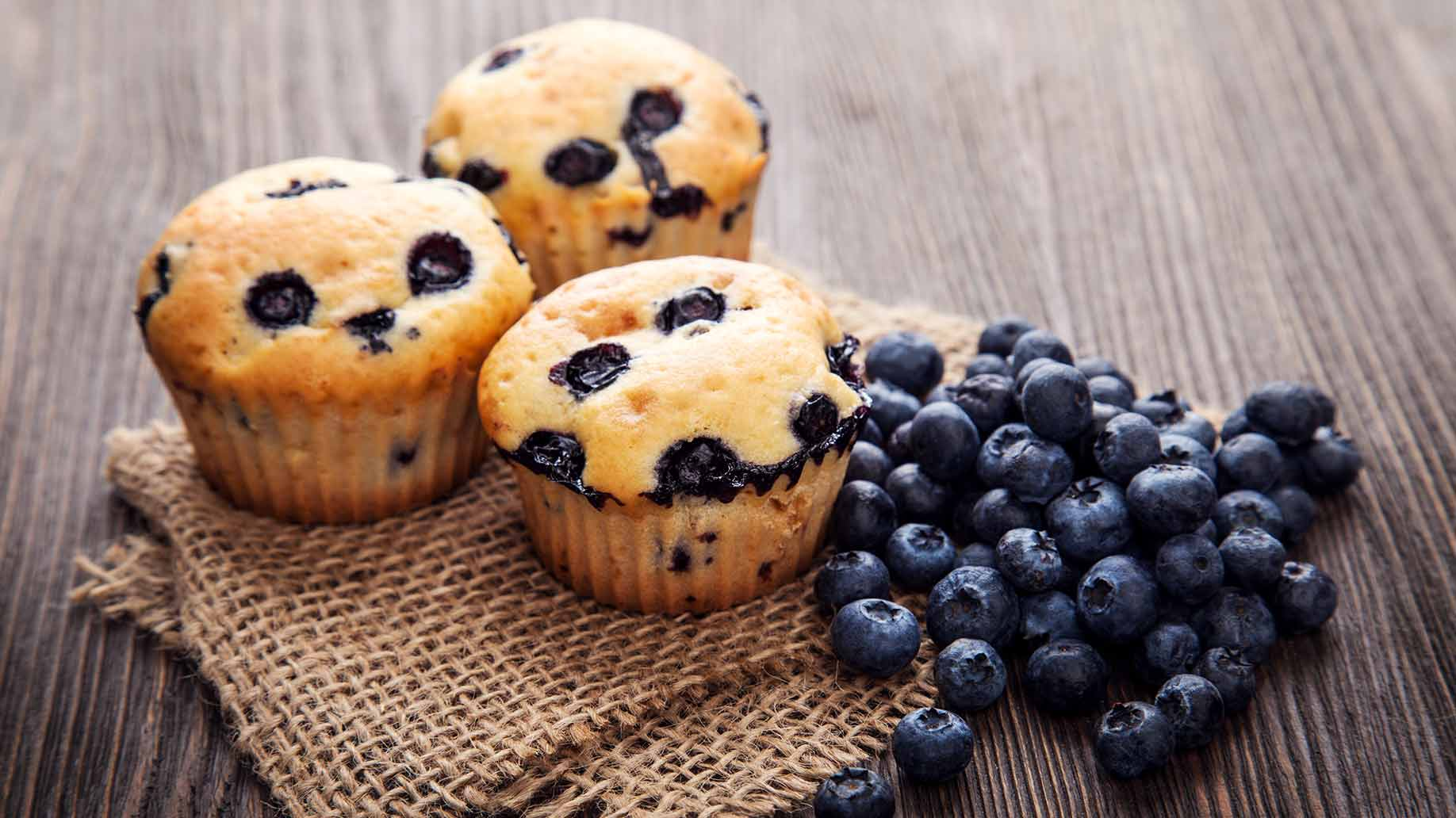 blueberry muffins applesauce healthy snack ideas