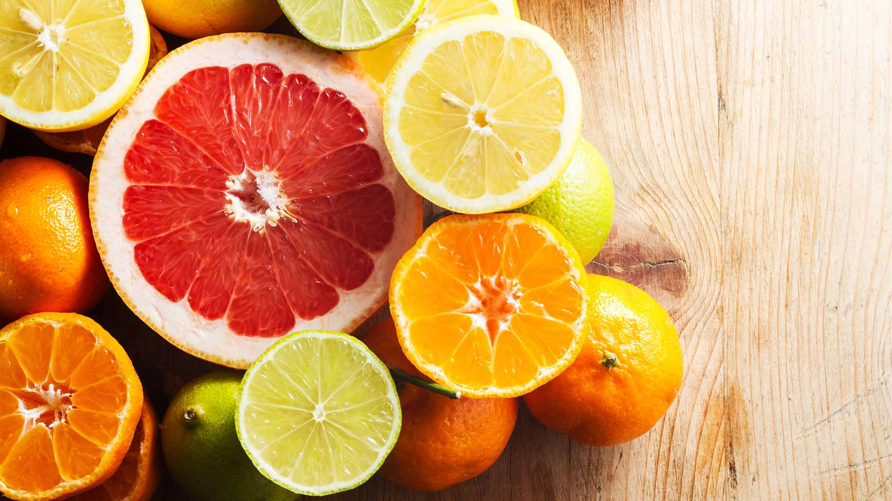 vitamin c fruits orange grapefruit lemons lime health benefits