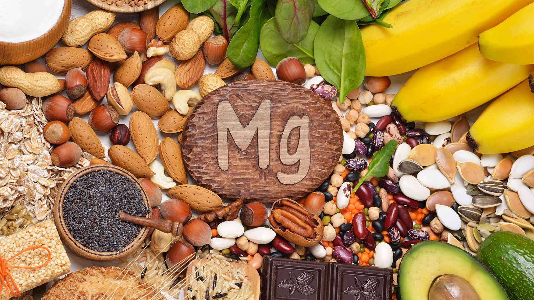 magnesium nuts seeds avocado green leafy vegetables diabetes prediabetes natural remedies