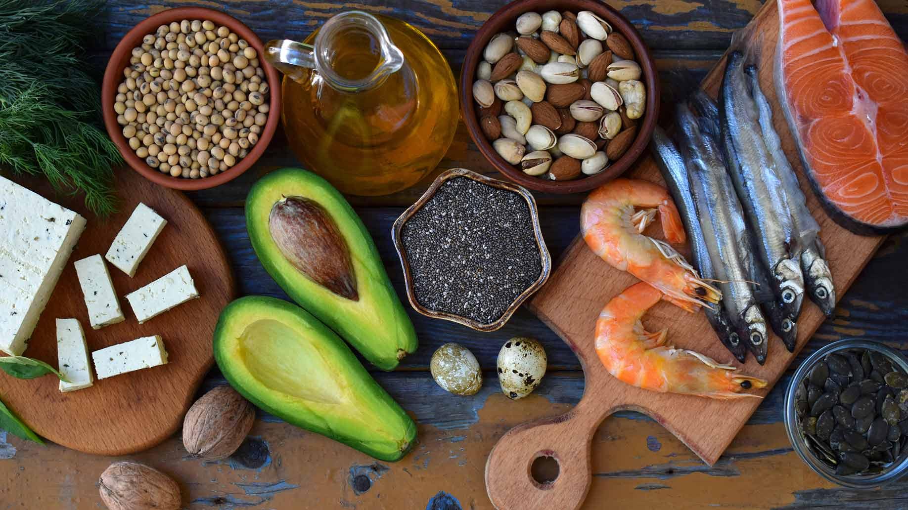 sardines avocado shrimp nuts tofu omega 3 fatty acid fish oil diabetes prediabetes natural remedies