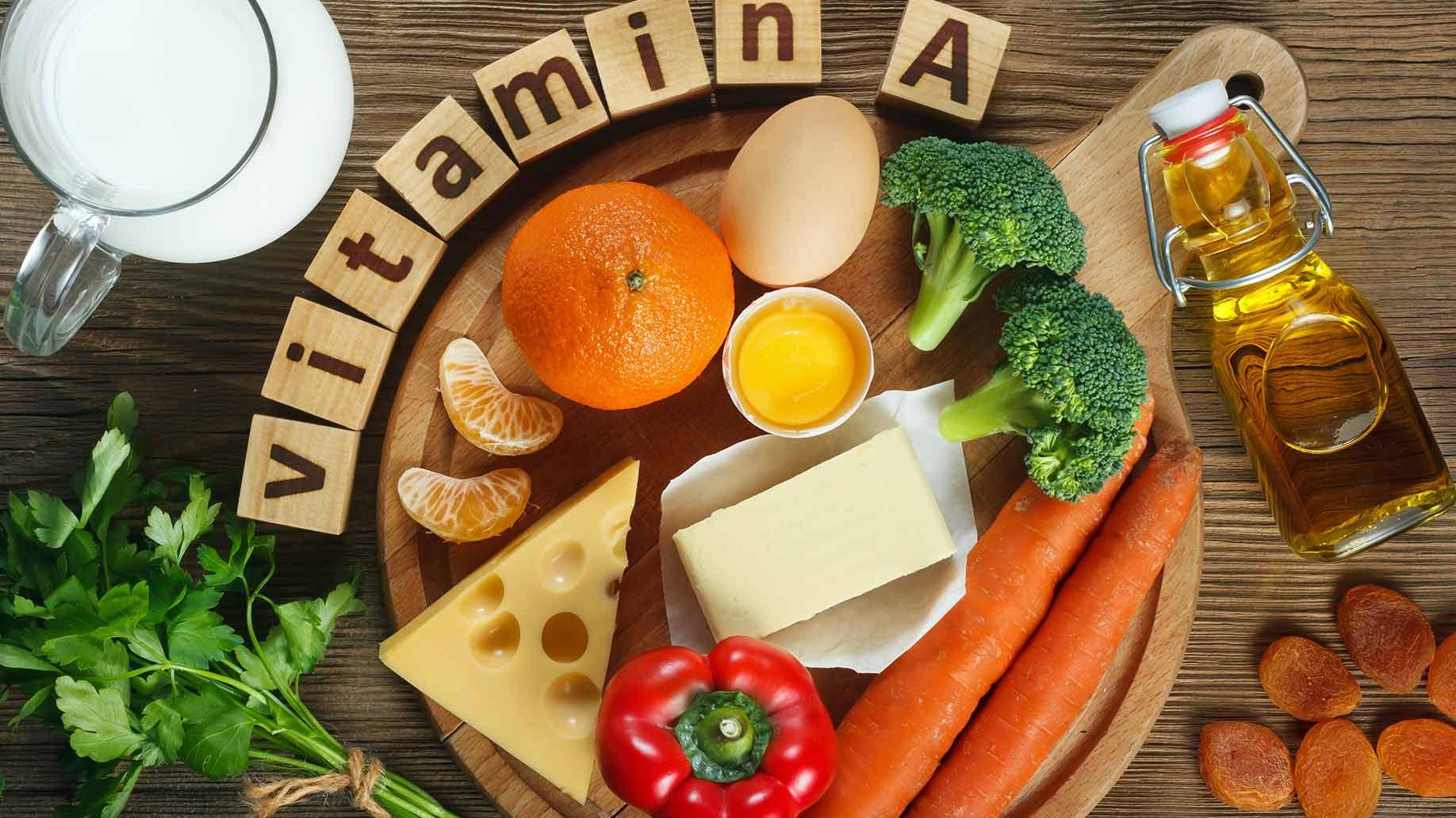 leaky gut vitamin a orange milk eggs broccoli carrots natural remedies