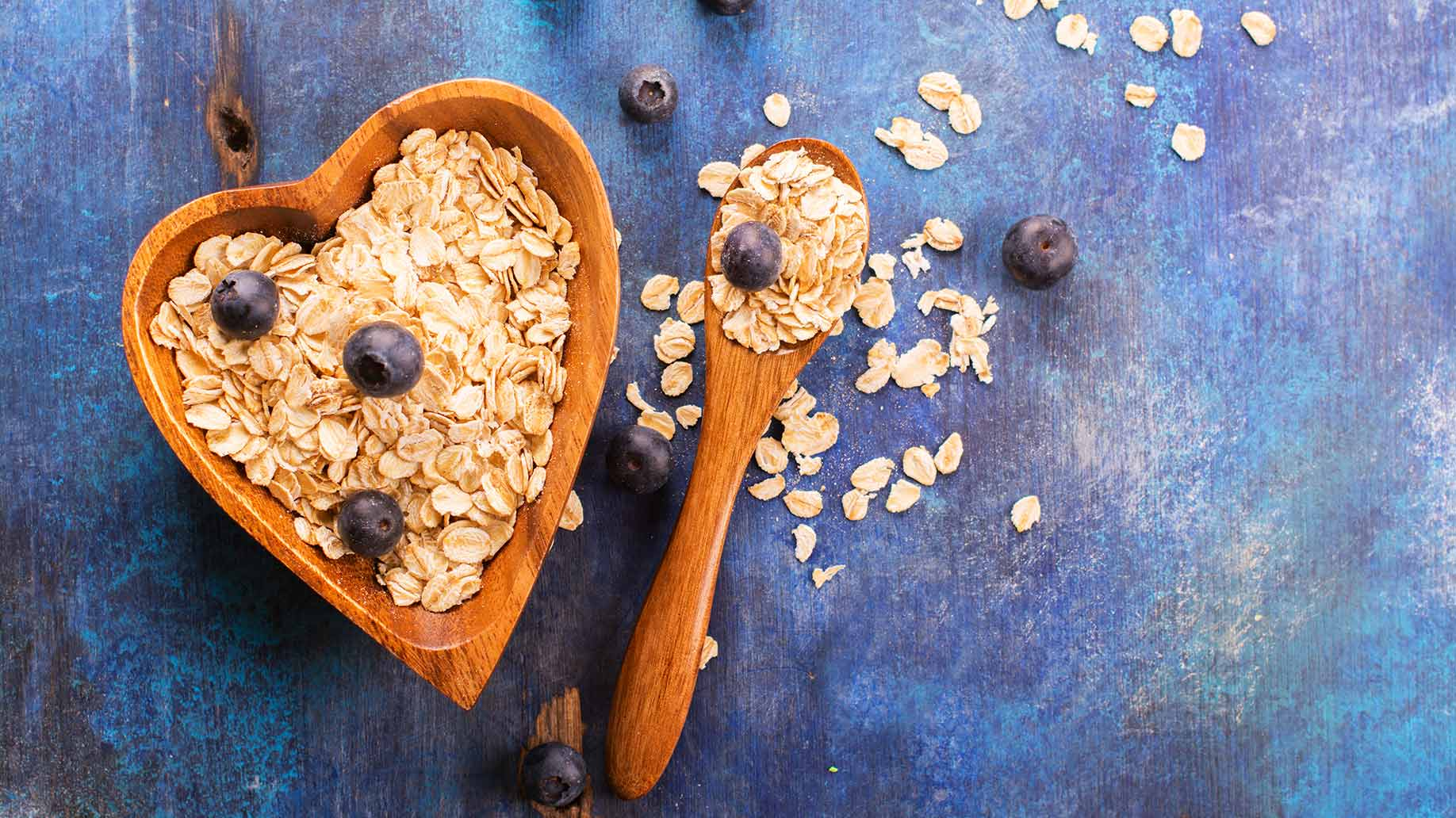 high cholesterol oats rolled bran heart health natural remedies