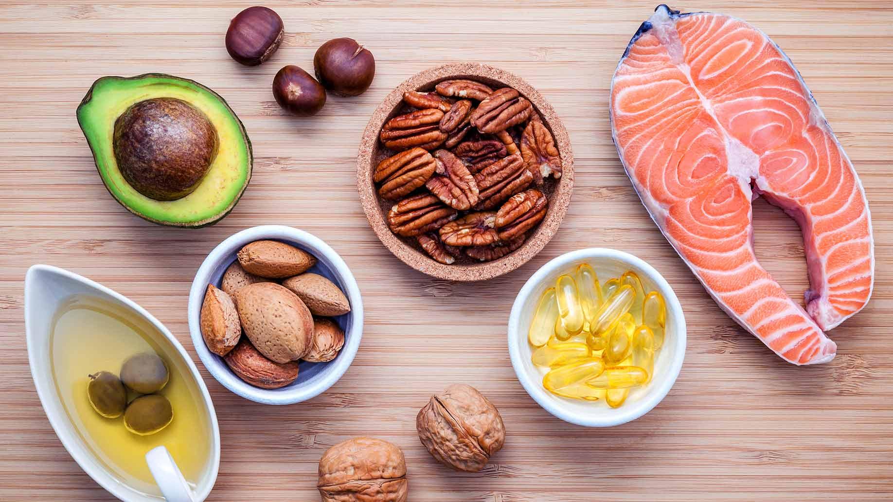 dha omega 3 fatty acid walnuts salmon chestnut avocado memory loss natural remedies