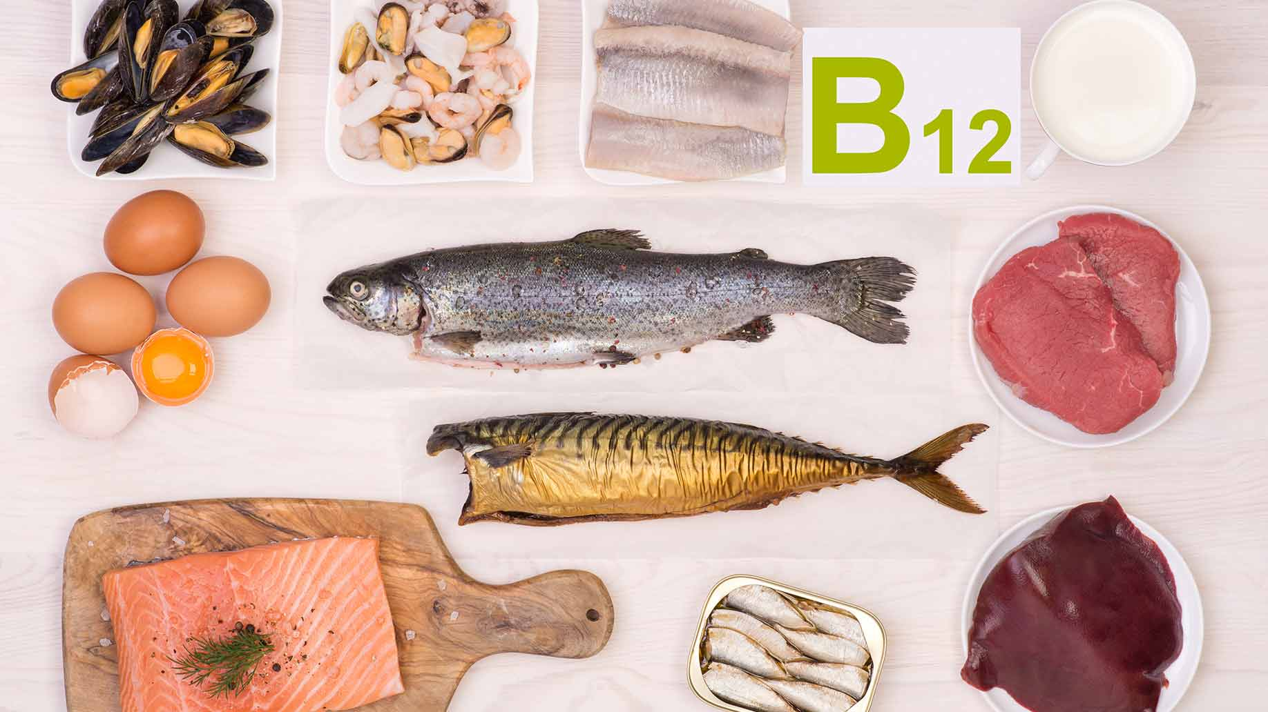 vitamin b12 fish salmon eggs liver mussels memory loss natural remedies