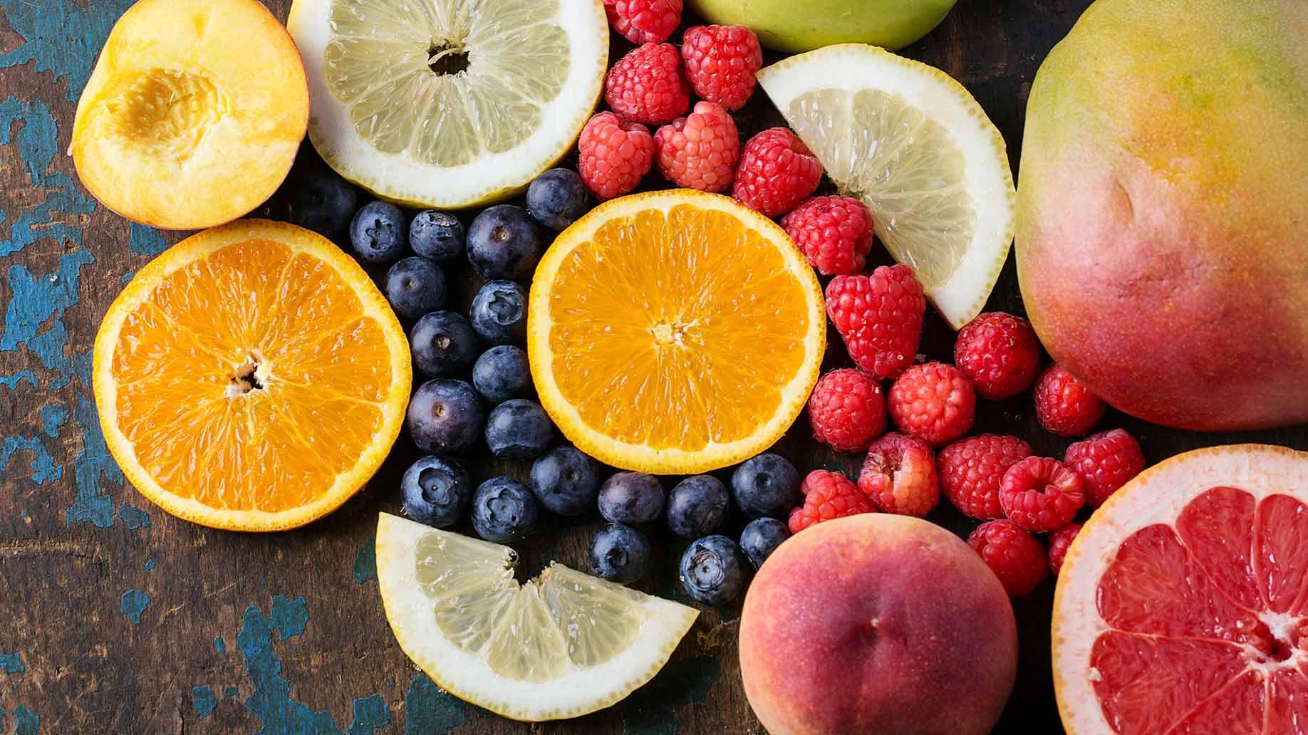 d mannose peach mango berries orange lemon grapefruit urinary tract infection uti natural remedies